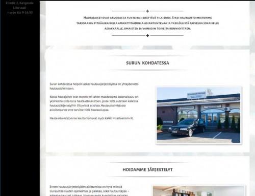 hautaustoimistomurtoniemi.fi