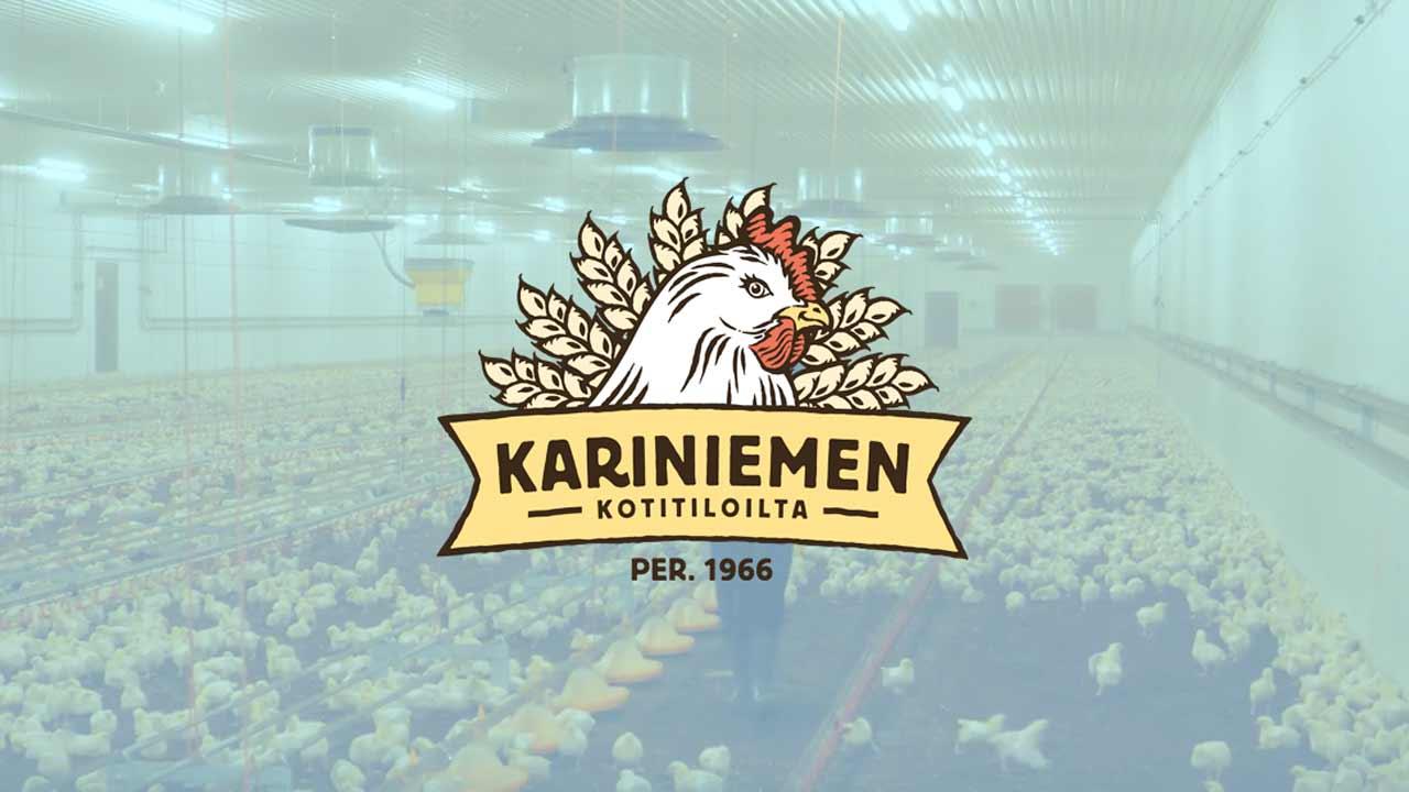 Vuoden Broilertila tuottaja Kariniemen