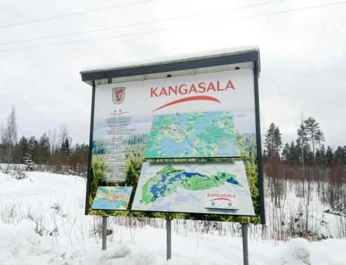 Grafiikka, Kangasala tienvarsi INFO, Ruutanan Shell