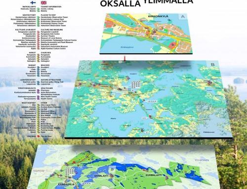 Grafiikka, Kangasala tienvarsi INFO, Onkijärvi, Mobilia, Ruutana ja Kaivanto